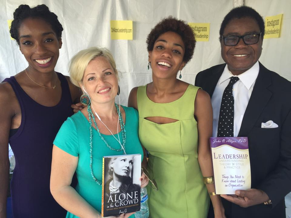 Author-Ania-G-LA-Times-Festival-of-Books with Dr. John Alizor