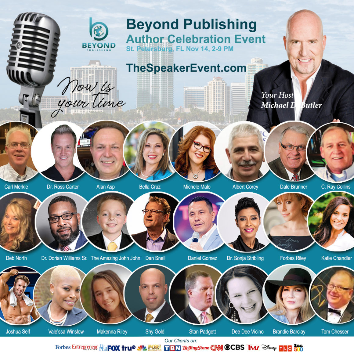 Beyond Publishing Author event Tampa St. Petersburg Florida